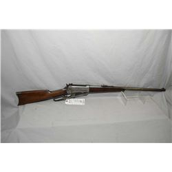 "Winchester Model 1895 .30 U.S. Model 1903 Cal Lever Action Rifle w/ 24"" round barrel [ fading blue f"