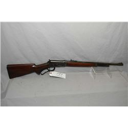 "WInchester Model 64 .32 Win Spec Cal Lever Action Rifle w/ 20"" bbl [ fading blue finish, with some l"