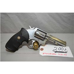 Smith & Wesson Model 65 - 3 .357 Mag Cal 6 Shot Revolver w/ 102 mm bbl [ stainless finish, fixed sig