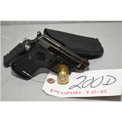 Beretta Model 950 B 6.35 MM Cal 8 Shot Semi Auto Pistol w/ 60 mm bbl [ blued finish, few slight mark