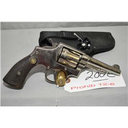 Smith & Wesson Model 38 Hand Ejecting Military & Police 1905 Third Change .38 Spec Cal 6 Shot Revolv