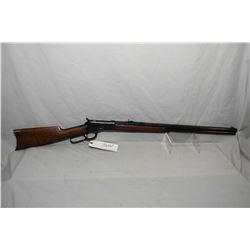 "Winchester Model 92 .38 WCF Cal Lever Action Rifle w/ 24"" new Winchester 92 barrel and full length m"