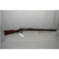 "Winchester Model 1894 .25 - 35 WCF Cal Lever Action Rifle w/ 26"" octagon barrel full mag [ fading pa"
