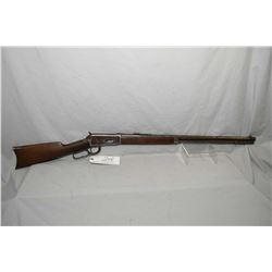 "Winchester Model 1894 .30 WCF Cal Lever Action Rifle w/ 26"" round barrel full mag [ fading blue fini"
