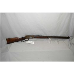 "Winchester Model 1894 .25 - 35 WCF Cal Lever Action Rifle w/ 26"" octagon barrel full mag [ blued fin"