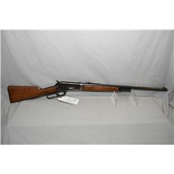 "Winchester Model 1886 Take Down .33 WCF Cal Lever Action Rifle w/ 24"" round barrel [ half mag, blued"