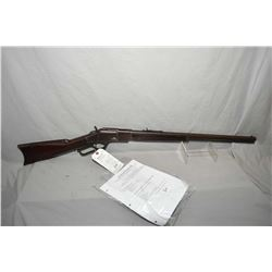 "Winchester Model 1873 3 Rd Model .32 WCF Cal Lever Action Rifle w/ 24"" round barrel full mag [ blued"
