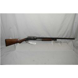 "Winchester Model 1897 .12 Ga Pump Action Shotgun w/ 30"" bbl [ reblued finish starting to fade in car"
