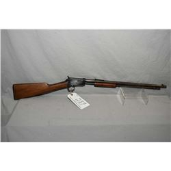 "Winchester Model 1906 .22 Short Cal ONLY Tube Fed Pump Action Rifle w/ 20"" rnd bbl [ fading blue fin"