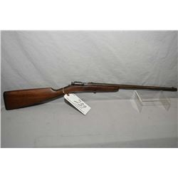 "Winchester Model 99 Thumb Trigger .22 Short and Long ONLY Single Shot Bolt Action Rifle w/ 18"" round"