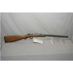 "Winchester Model 58 .22 LR Cal Single Shot Bolt Action Rifle w/ 18"" round bbl [ blued finish faded t"