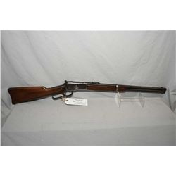 "WInchester Model 1892 .44 WCF Cal Saddle Ring Carbine w/ 20"" round barrel full mag [ blued finish, s"