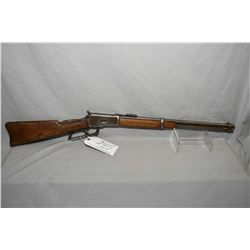 """Winchester Model 1892 .44 WCF Cal Lever Action Saddle Ring Carbine w/ 20"""" bbl [ fading blue finish t"""