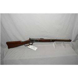 "Winchester Model 1892 .32 WCF Cal Lever Action Saddle RIng Carbine w/ 20"" round barrel [ blued finis"