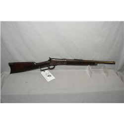 "Winchester Model 1892 Take Down .32 WCF Cal Lever Action Rifle w/ barrel cut to approx. 17 3/4"" [ mo"