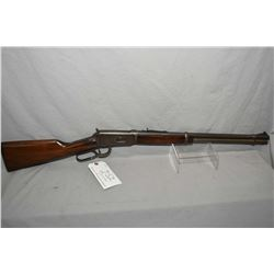 "Winchester Pre 64 Model 94 .25 - 35 Win Cal Lever Action Rifle w/ 20"" bbl [ blued finish fading to g"