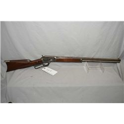 "Marlin Model 1889 ( First Side Eject ) .38 Win Cal Lever Action Rifle w/ 24"" octagon barrel full mag"