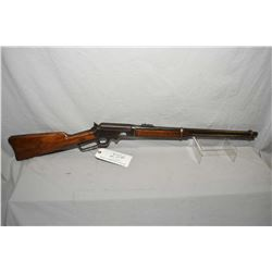 "Marlin Model 1893 .30 - 30 Cal Lever Action Saddle Ring Carbine w/ 20"" round barrel full mag [ fadin"