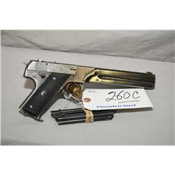 High Standard Model HB .22 LR Cal 10 Shot Semi Auto Pistol w/ 171 mm bbl [ fading blue finish, with