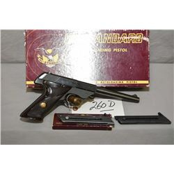 High Standard Model Sport King 103 .22 LR Cal 10 Shot Semi Auto Pistol w/ 171 mm bbl [ blued finish,