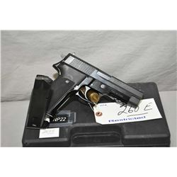 Norinco Model NP 22 . 9 MM Luger Cal 10 Shot Semi Auto Pistol w/ 112 mm bbl [ appears v - good, in o