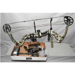 "Lot of Two Items : Diamond By Bowtech Model Outlaw Right Hand Compound Bow 60 Lb 29"" Pull, - Tray Lo"
