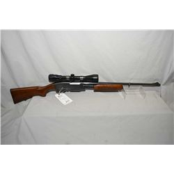 "Remington Model 760 Gamemaster .35 Rem Cal Mag Fed Pump Action Rifle w/ 22"" bbl [ blued finish, star"