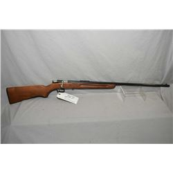 "Winchester Model 67 .22 LR Cal Single Shot Bolt Action Rifle w/ 27"" bbl [ appears refinished, blued"