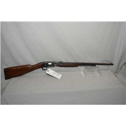 "Remington Model 12 .22 LR Cal Tube Fed Pump Action Rifle w/ 22"" round bbl [ blued finish starting to"