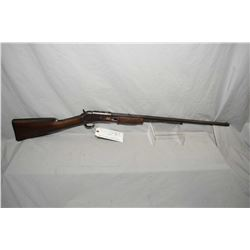 "Colt Model Lightning Small Frame .22 Cal Tube Fed Pump Action Rifle w/ 24"" octagon bbl [ fading blue"