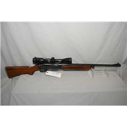 "Remington Model 742 Woodsmaster .30 - 06 Sprg Cal Mag Fed Semi Auto Rifle w/ 22"" bbl [ blued finish,"