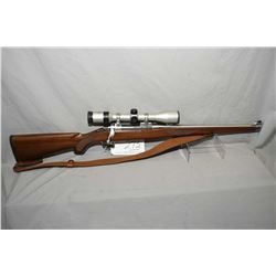 Ruger Model M77 Mark II .250 Savage Cal Bolt Action Full Wood Mannlicher Style Stocked Rifle w/ 18 1