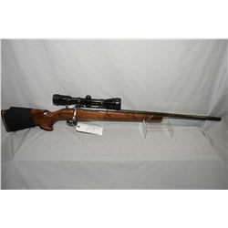 "Custom Carl Gustaff Mauser 6.5 x 55 Cal ? Bolt Action Rifle w/ 25"" stepped bbl [ fading blue finish,"