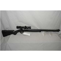 "Traditions Model Pursuit XLT II .50 Cal Perc Cal Inline Black Powder Rifle w/ 28"" round ported and f"