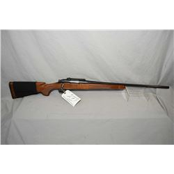 "Remington Model 700 .22 - 250 Rem Cal Bolt Action Rifle w/ 24"" round bbl [ blued finish, no sights,"