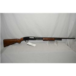 "Winchester Model 42 .410 Ga 3"" Pump Action Shotgun w/ 26"" round barrel [ blued finish, with few mark"