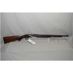 "Savage Model 29 - A .22 LR Cal Tube Fed Pump Action Rifle w/ 24"" octagon bbl [ blued finish starting"