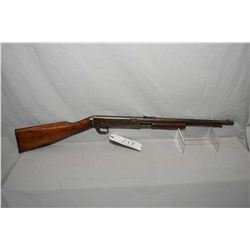 "C.J. Hamilton & Son Model 39 .22 Short Cal Tube Fed Pump Action Rifle w/ 15 3/4"" bbl [ patchy faded"