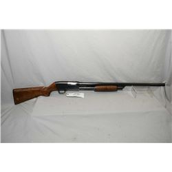 "Stevens Model 820 B .12 Ga 2 3/4"" Pump Action Shotgun w/ 28"" bbl [ blued finish starting to fade in"