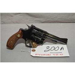 Smith & Wesson Model 34 - 1 .22 LR Cal 6 Shot Revolver w/ 102 MM bbl [ blued finish, few marks inclu