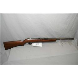 "Winchester Model 55 .22 LR Cal Single Shot Rifle w/ 22"" bbl [ faded blue finish, barrel sights, load"