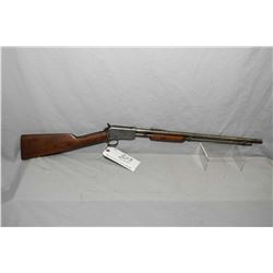 "Winchester Model 1906 .22 LR Cal Tube Fed Pump Action Rifle w/ 20"" round bbl [ blued finish polished"