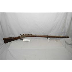 "Remington Model No 1 Rolling Block .43 Spanish Cal ? Full Wood Military Three Band Rifle w/ 35"" bbl"