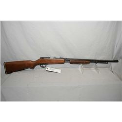 "Noble Model 235 .22 LR Cal Tube Fed Pump Action Rifle w/ 24"" round bbl [ blued finish, starting to f"