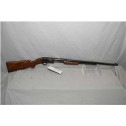 "Marlin Model 38 .22 LR Cal Tube Fed Pump Action Rifle w/ 24"" rnd bbl [ blued finish starting to fade"