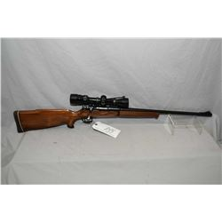 Unknown Custom Model Mauser Action .30 Rem Cal Bolt Action Rifle w/ 20  bbl [ blued finish, front ba