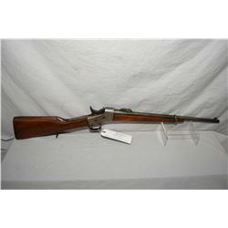 "Remington Model No 1 Rolling Block .7 MM Mauser Cal Single Shot Carbine w/ 20 1/2"" bbl [ faded blue"