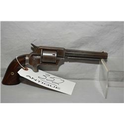 "Wm. Uhlinger ( Marked J.P. Lower on left side of frame ) .32 Rimfire Model 6 Shot Revolver w/ 5"" oct"