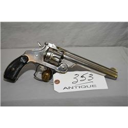 "Smith & Wesson Mod 44 Double Action First Model .44 S & W Russian Cal 6 Shot Revolver w/ 6"" bbl [ ni"