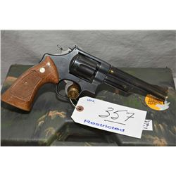 Smith & Wesson Model 28 - 2 Highway Patrolman .357 Mag Cal 6 Shot Revolver w/ 152 mm bbl [ blued fin